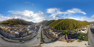 Sotchi Panorama air de 360 degrés Photo libre de droits