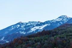 Sotchi Rosa Khutor Montagnes Image libre de droits