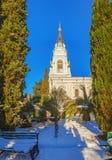 SOTCHI, RUSLAND - JANUARI 27, 2016: De Kathedraal van Michael de Aartsengel Royalty-vrije Stock Fotografie