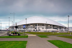 Sotchi, Rusland - Mei 31, 2017: Olympisch park en Fisht-stadion voor de Winterolympische spelen 2014 Voetbalstadion Stock Afbeelding