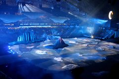SOTCHI, RUSSIE - 7 FÉVRIER 2014 : le paysage de Photo stock
