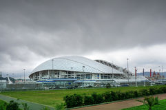 Sotchi, Russie - 31 mai 2017 : Parc olympique et stade de Fisht pour les Jeux Olympiques 2014 d'hiver Stade de football Photo libre de droits