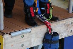 Sotchi, skypark, saut de bungee 69 m image stock