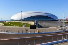 Sotchi Stationnement olympique Équipements et attractions Images stock