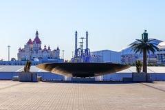 Sotchi Stationnement olympique Équipements et attractions Photo stock
