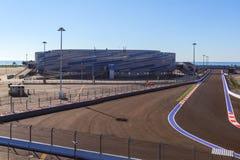 Sotchi Stationnement olympique Formule de circuit Image libre de droits