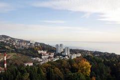 Sotchi, un horizontal de ville images libres de droits