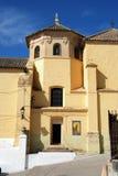 Soterrano church, Aguilar de la Frontera. Soterrano church (Iglesia de Soterrano) entrance and dome, Aguilar de la Frontera, Cordoba Province, Andalusia, Spain Stock Photo