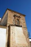 Soterrano church, Aguilar de la Frontera. Soterrano church (Iglesia de Soterrano) tower, Aguilar de la Frontera, Cordoba Province, Andalusia, Spain, Western Royalty Free Stock Photo