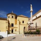 Soterrano kościół, Aguilar de los angeles Frontera Zdjęcie Royalty Free