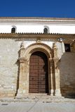 Soterrano kościół, Aguilar de los angeles Frontera Obrazy Stock