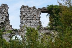 Soteska castle, Slovenia. Ruins of Soteska castle, Slovenia Royalty Free Stock Photography