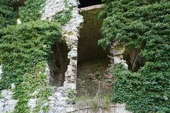 Soteska castle, Slovenia. Ruins of Soteska castle, Slovenia Stock Photo