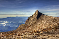 Soth Spitze, Montierung Kinabalu Lizenzfreies Stockbild
