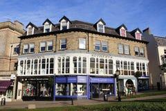 Sotheby Harrogate e outro partes dianteiras da loja. Imagem de Stock Royalty Free