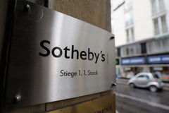Sotheby's logo Stock Image