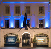 Sotheby's. A well know auction house for high price art goods, in the west end of London Royalty Free Stock Image