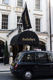 Sothebys. Auction house located in London, England Royalty Free Stock Image