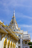 The Sothon temple. Is the Buddhist faith in Thailand royalty free stock images
