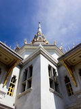 The Sothon temple. Is the Buddhist faith in Thailand stock photo
