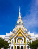 The Sothon temple. Is the Buddhist faith in Thailand royalty free stock image