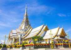 The Sothon temple. Is the Buddhist faith in Thailand royalty free stock photography