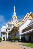The Sothon temple is the Buddhist faith. In Thailand royalty free stock photos