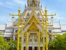 Sothon temple. In chachoengsao thailand royalty free stock image