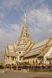 Sothon Worawihan Temple Chachoengsao of thailand. Art in the temple is inherited from generation to generation in order to preserve the cultural remains royalty free stock photography