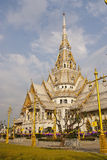 Sothon Worawihan Temple Chachoengsao of thailand Stock Image