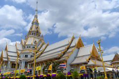 Sothonwararam Buddhist Temple. Is a temple in Chachoengsao Province at Thailand Royalty Free Stock Photos