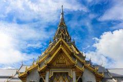 Sothorn tempel i Chachoengsao Thailand Arkivbild
