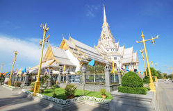 Sothorn temple, CHA CHENG SAO Thailand. Sothorn temple at CHA CHENG SAO Thailand Royalty Free Stock Photo