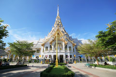 Sothorn temple, CHA CHENG SAO Thailand. Sothorn temple at CHA CHENG SAO Thailand Stock Photo