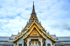 Sothorn Temple at Chachengsao Thailand. And sky Stock Image