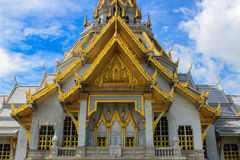 Sothorn  temple in Chachoengsao Thailand Royalty Free Stock Photography