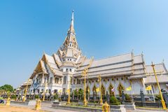Sothorn temple at Chachoengsao Stock Photography