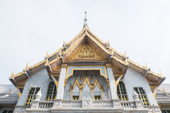Sothorn Temple, golden colored temple in Thailand Royalty Free Stock Photography