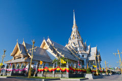 Sothorn Wararam. Woraviharn Temple,thailand Stock Photography