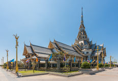 Sothornwararam temple in Thailand Stock Image