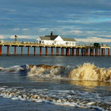 Sothwold Pier. An old pier in Southwold, England Stock Photography