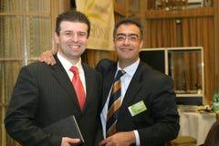 Sotiris Karagiozidis and Panos Manolopoulos Royalty Free Stock Photo
