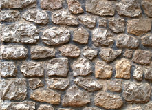 Sotne wall. Old stone wall texture background Royalty Free Stock Photo