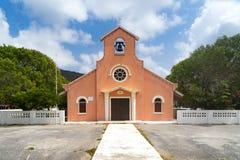 Soto Church. Views around the Caribbean island of Curacao Stock Image