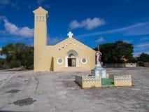 Soto Church. Views around Curacao a small island in the Caribbean Stock Photos