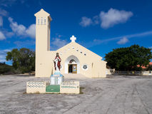 Soto Church. Views around Curacao a small island in the Caribbean Royalty Free Stock Images