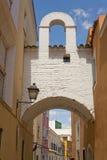 Soto Mancera Arch, Badajoz Royalty Free Stock Images