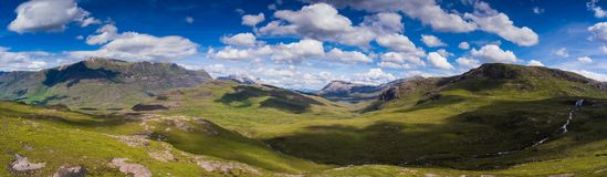 Sottish Highlands. Scottish view in the highlands Royalty Free Stock Photography