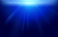 Sotto acqua Fotografie Stock