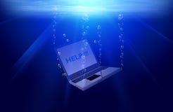 Sotto acqua royalty illustrazione gratis